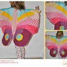Kostüm Schmetterlingsflügel