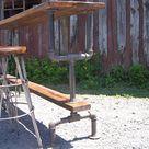 Bar Height Table Industrial Bar Table Reclaimed Wood Table   Etsy