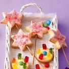 Zauberstab-Kekse mit Brause