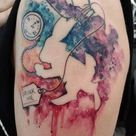 Tattoo Alice In Wonderland