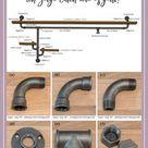 Regal aus Rohren bauen – So baut Ihr Euer Industrial Style Regal selber