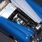 Franklin Mint 1955 Bentley S1 Blue 124th diecast model