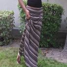 Jersey Maxi Skirts
