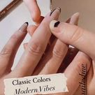 Modern French Nail Design