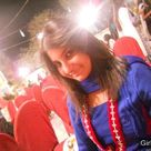 Pakistani beautiful girl in blue salwar kameez