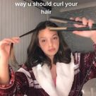 La manera correcta de enchinar el cabello