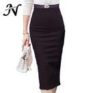 15.5US $  High Waist Pencil Skirt Plus Size Tight Bodycon Fashion Women Midi Skirt Red Black Slit Skirts Womens Fashion Jupe Femme S   5XL high waist pencil skirt midi skirtwomen midi skirt - AliExpress