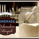 Homemade Dishwashing Detergent