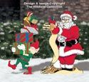 Santa & Elves - North Pole Santa's List Pattern