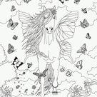 Coloriages butterfly dans bella sara - fr.hellokids.com