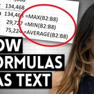 How to Show Excel Formulas in Cells with FORMULATEXT Function