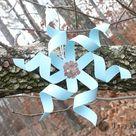 Twirly Paper Snowflake Tutorial