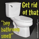 Boy Bathroom Smell