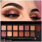 soft glam makeup palette looks