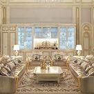 Admirable Living Room Design in Dubai by Luxury Antonovich Design