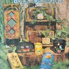 Easy To Paint Folk Designs Tole Painting Book by Ken Smith | Etsy