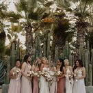 Tropical Boho Acre Baja Wedding in Neutral Tones   Junebug Weddings