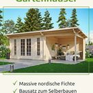 Hochwertige Gartenhaus Bausätze für deinen gemütlichen Garten