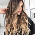 ▷ 1001+ stylische Ideen für braune Haare mit blonden Strähnen