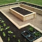 Raised Garden Bed with Benches | The Owner-Builder Network