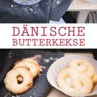 Dänische Butterkekse - Wienerbrød - skandinavisch backen