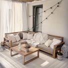 Exklusives, modernes und vielseitiges Gartenset aus wunderschönem Akazienhartholz