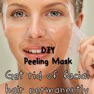 Facial Hair Removal Cream