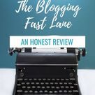 The Blogging Fast Lane   A review of AdventureInYou's blogging course