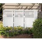 Metal Privacy Screen Fence, Metal Tree Metal Wall Art, Outdoor Indoor Privacy, Panel, Garden Screen, Restaurant Decor -4' H x 2' - Walmart.com