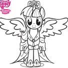 My Little Pony Kleurplaat Tv Series Kleurplaat
