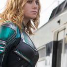 Captain Marvel, movie, Brie Larson, actress, blonde, 1080x2160 wallpaper