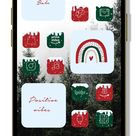 Christmas app icons   winter snow iPhone home screen