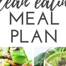 7-Day Clean Eating Challenge & Meal Plan (The First One) - Beauty Bites