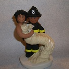 Firefighter Wedding Cakes