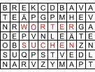 Suchsel Wörter suchen Buchstabensalat PDF Vorlagen
