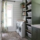 Our DIY Farmhouse Laundry Room   The Reveal