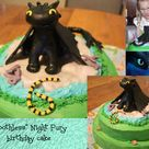 Dragon Birthday Cakes