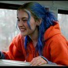 Kate Winslet + blue hair = LOVE