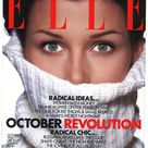 Elle US no 98 Oct 1993 American  Foreign Original Vintage Fashion Magazine Gift Birthday Present Bridget Moynahan cover