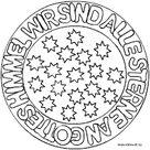 Mandalas zu den Weltreligionen für Kinder im kidsweb.de