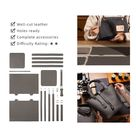 DIY Handmade Leather Kits of Hermes Basket Bag