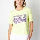 Lets Get It Om Tee   Chartreuse / L