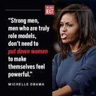 Quote from:  Michelle Obama