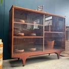 Meredew Mid-Century Display Cabinet