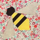 Instant download Indian Summer paper piecing quilt pattern, God's Eye paper pieced quilt block pattern, star quilt pattern, star pattern