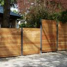 Sichtschutz Zaun Garten Terrasse Balkon Holz Metall kaufen modern   Stahlzart