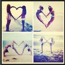 beach heart auf Tumblr discovered by Lena611 on We Heart It