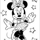 Minnie Mouse Free Printable Coloring Pages 45