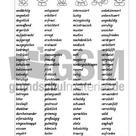 Adjektive-für-Gefühle-Liste - Arbeitsblätter - Gefühle - Themen und Projekte - HuS Klasse 3
