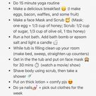 Sunday Self Care Routine 😍 on We Heart It